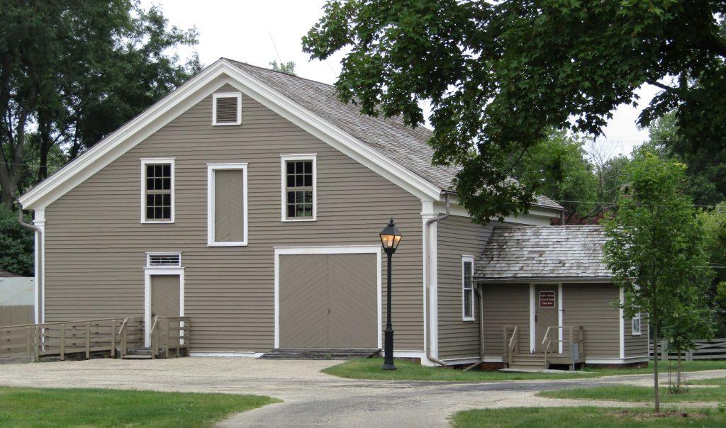 David Davis Historic Site barn, Aug. 10, 2021